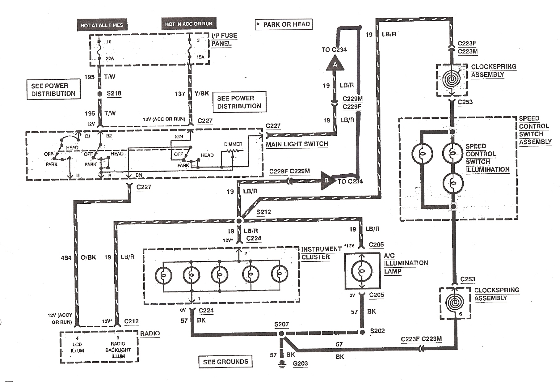 92 ford bronco radio wiring diagram