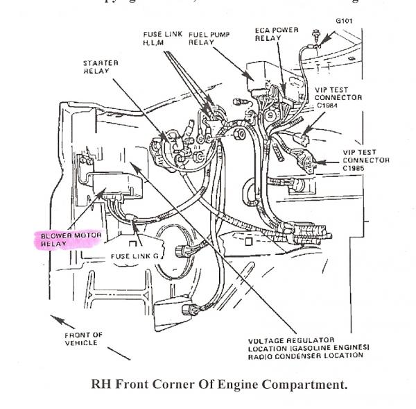 2007 ford e350 blower motor wiring diagram
