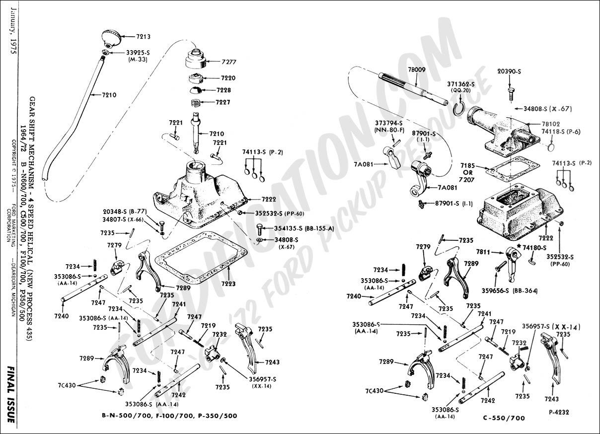 ford transmission schematics