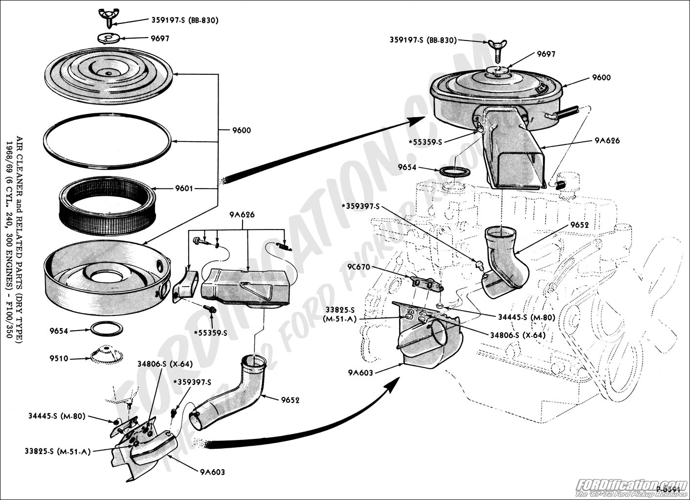 1967 ford f100 carburetor auto electrical wiring diagram 1968 Ford F100 Carburetor ford truck technical drawings and schematics