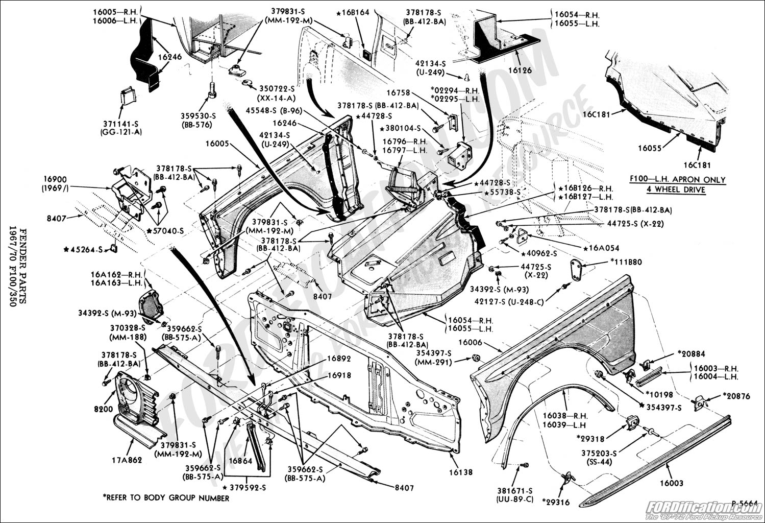 1955 ford f100 rear bumper