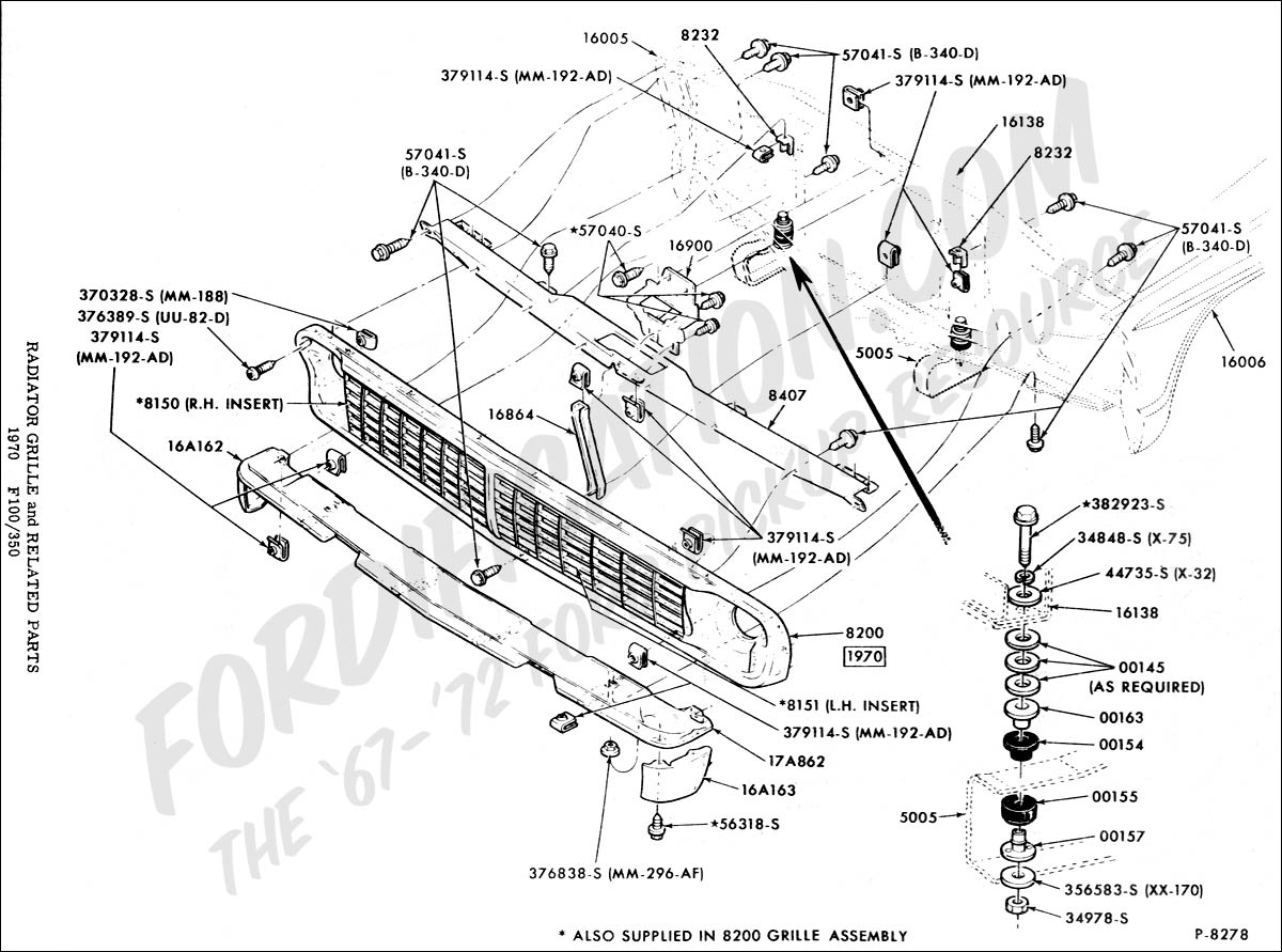 1964 ford truck parts