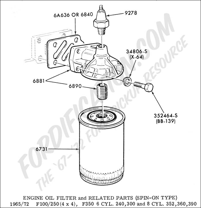 spin on fuel filter