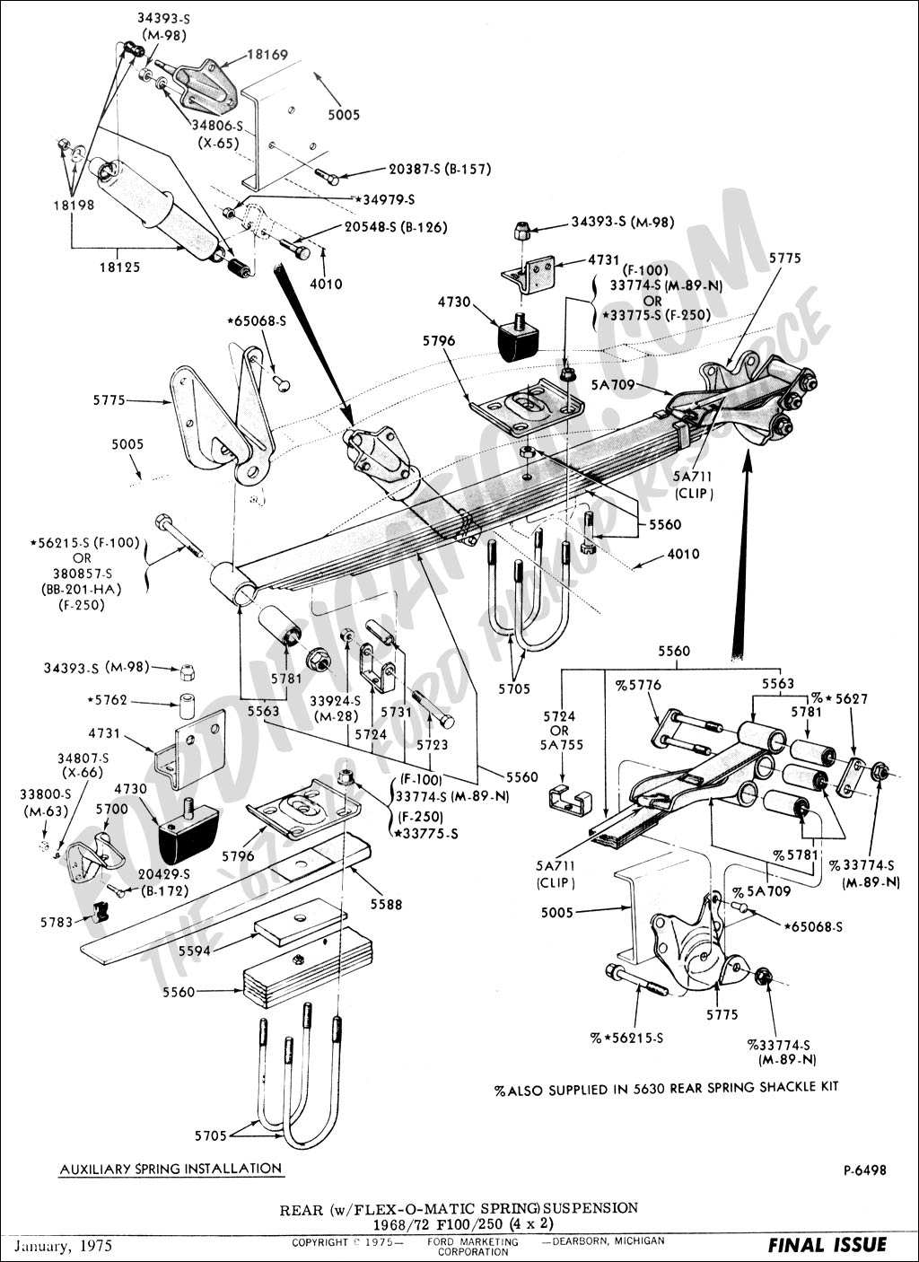 1972 ford f 250 front suspension diagram