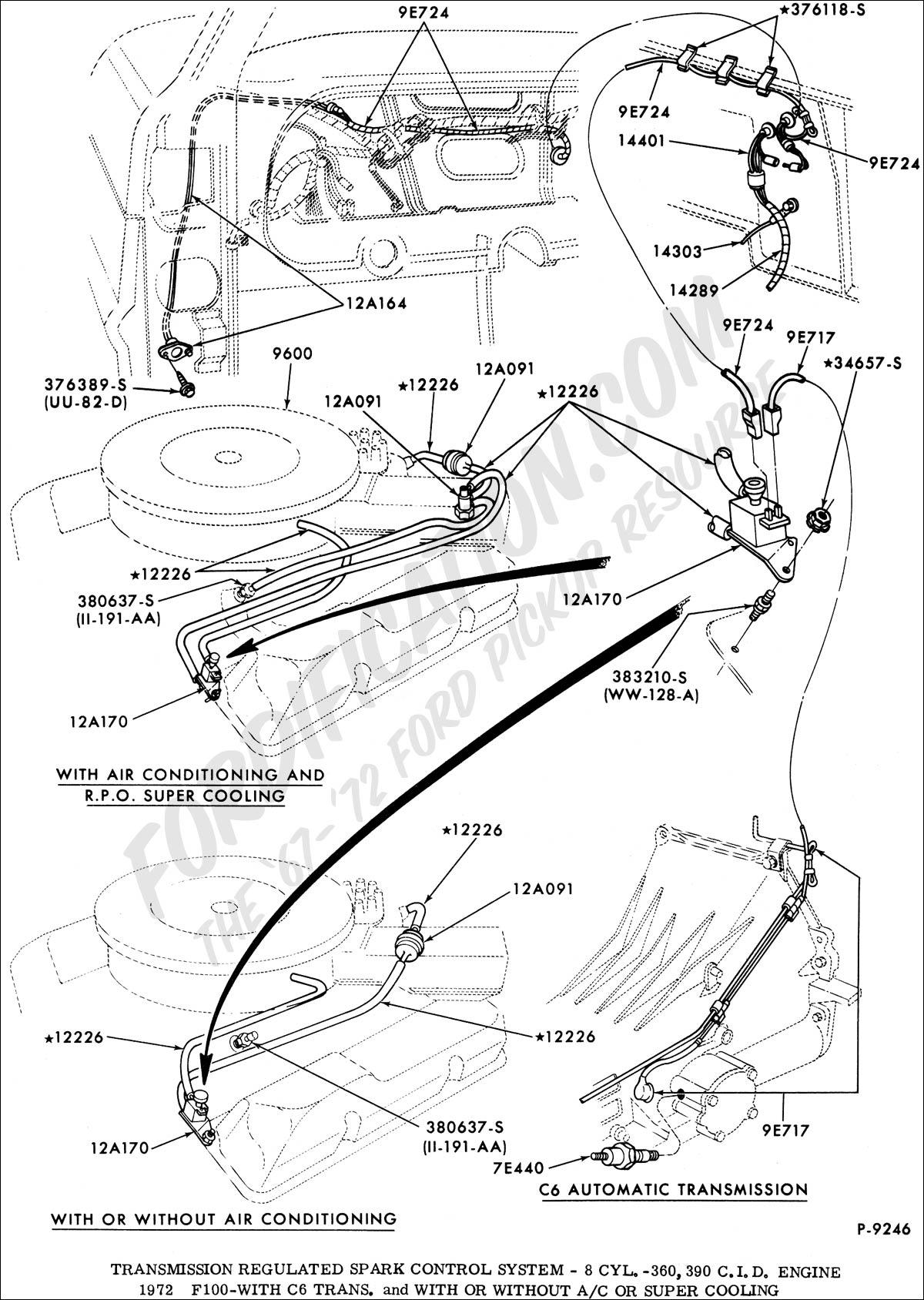 ford fairlane wiring diagram pertronix