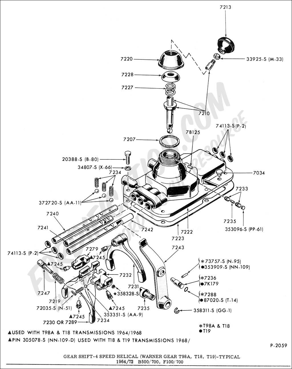 transmission schematics ford