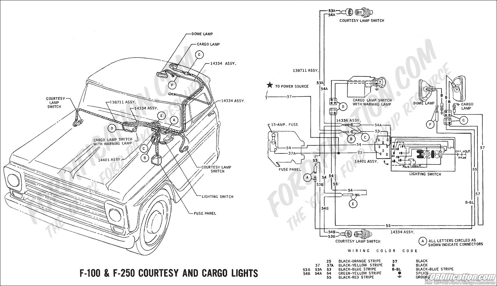 1972 ford f100 alternator wiring diagram