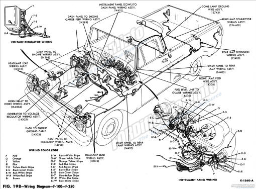 Wiring Diagrams Of 1963 Ford Comet And Falcon 6 All Models Part 1