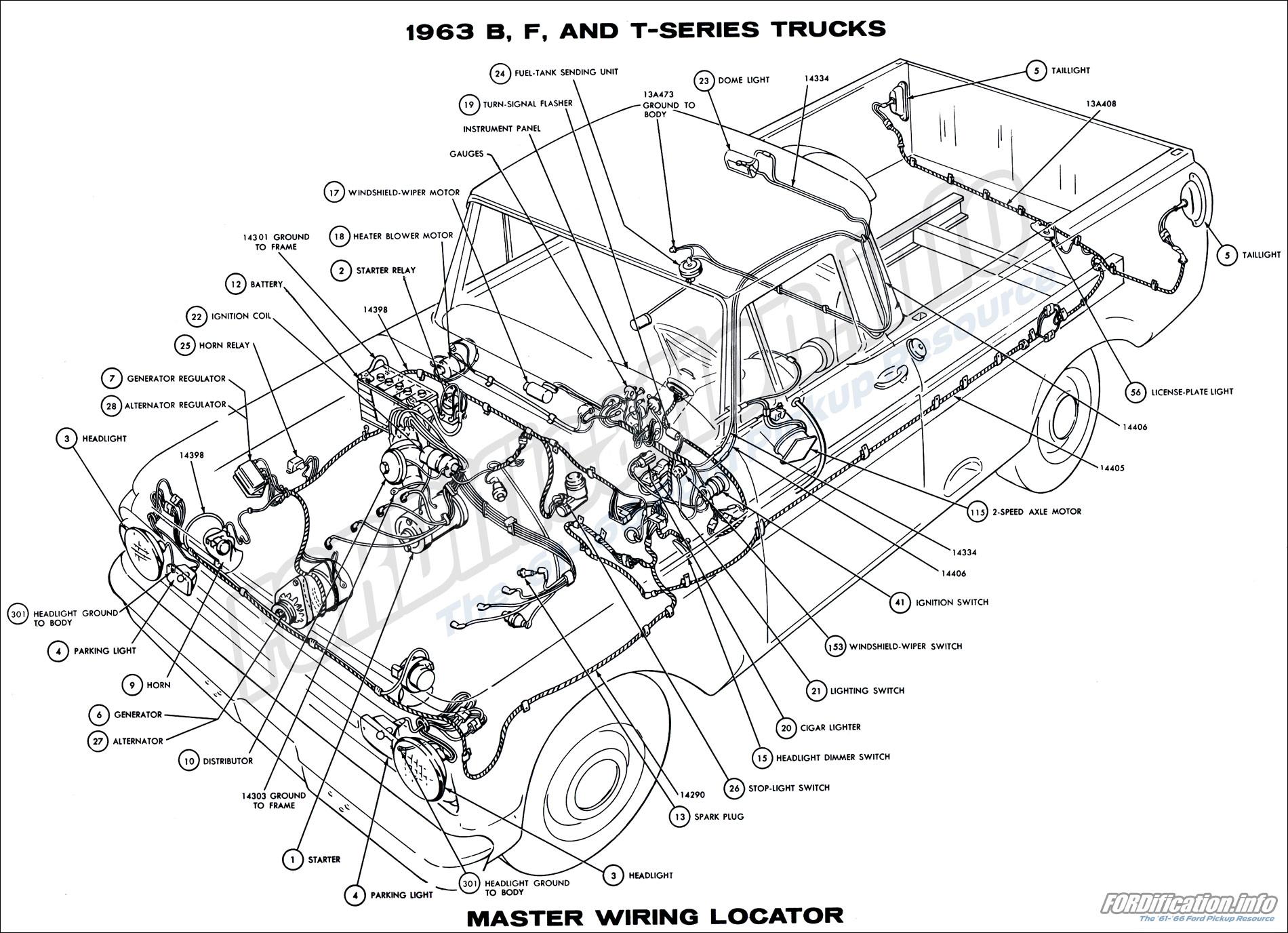 1973 77 ford f 250 wiring schematic