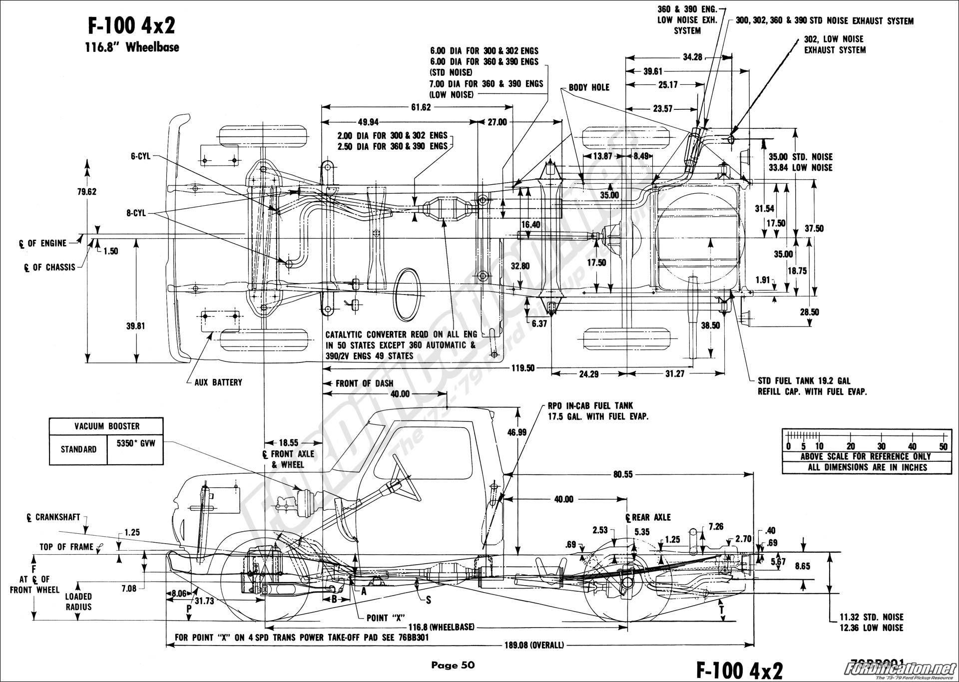 76 f100 engine diagram