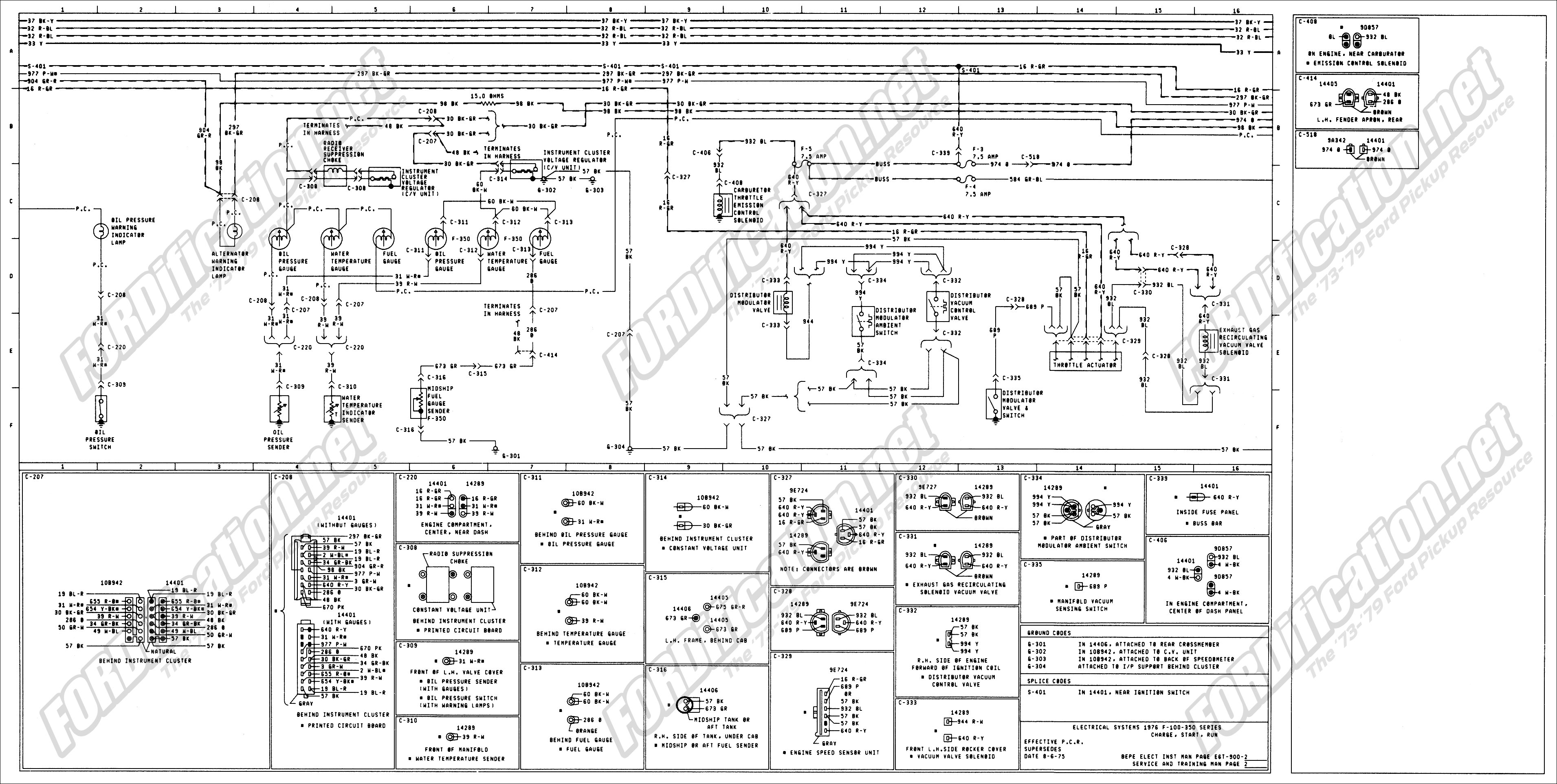 76 ford truck wiring diagrams