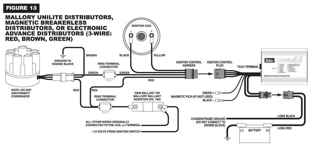 mallory 9000 wiring diagram