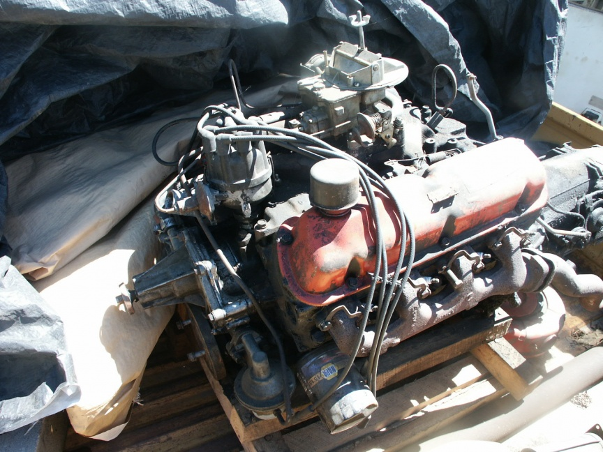 1964 Fairlane running 289 special Ford 5 bolt motor - Ford Muscle