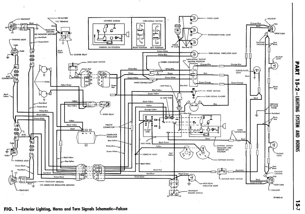 Falcon Ignition Wiring Wiring Diagram