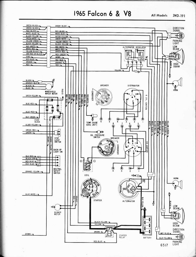 1963 ford falcon wiring schematic