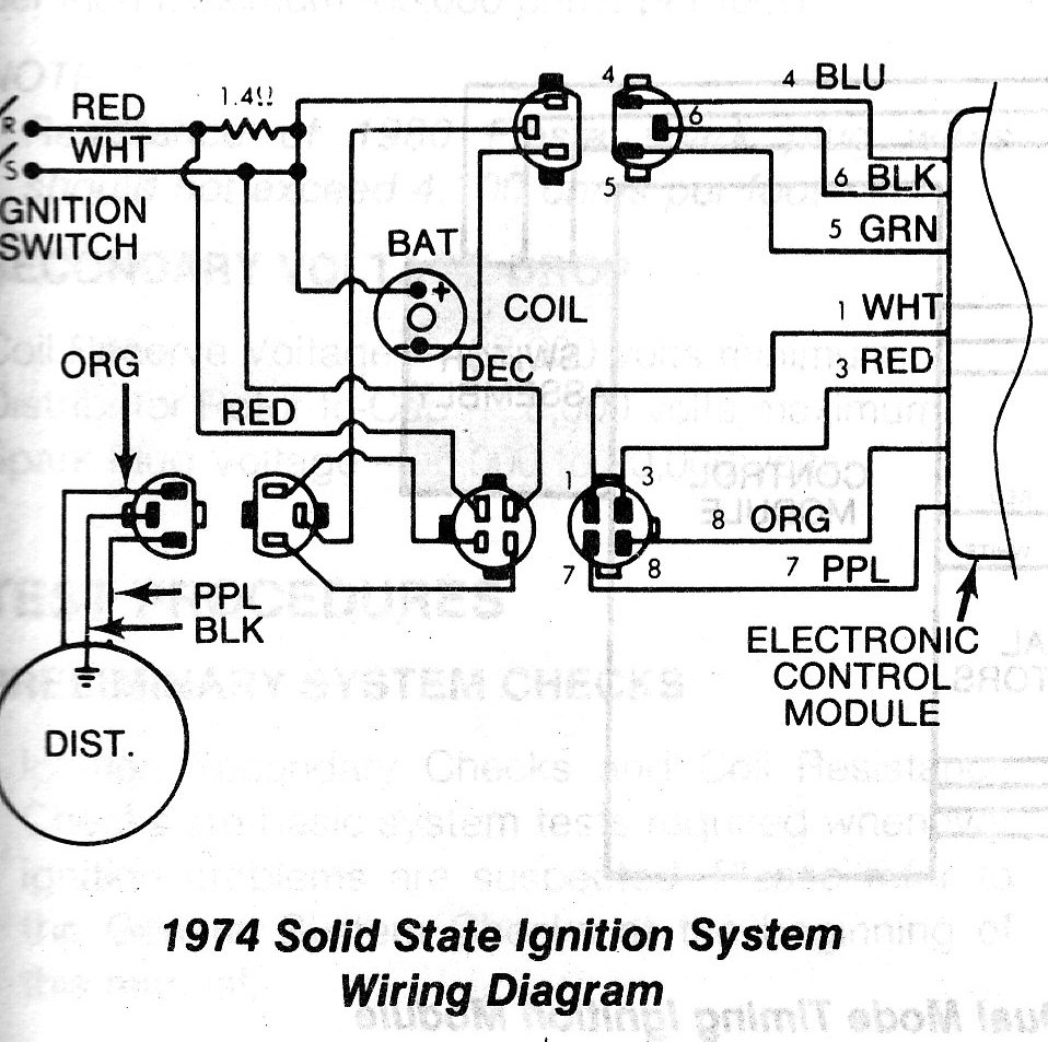 ignition system wiring diagram