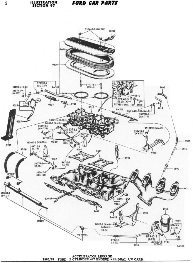 1972 Mustang Engine Diagram