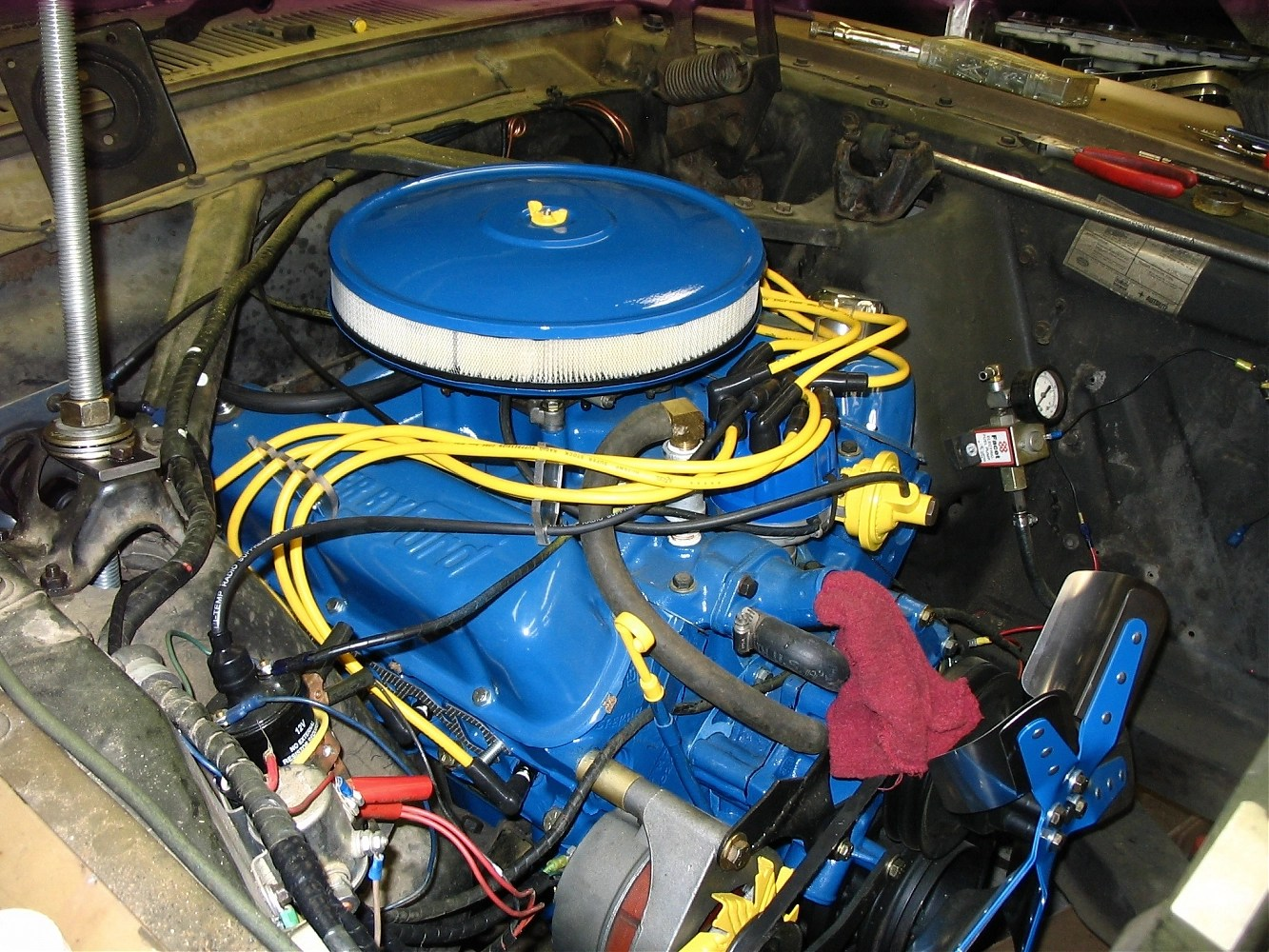 Ford 1 Wire Alternator Wiring 351w Swap Pully Issues Ford Muscle Forums Ford Muscle