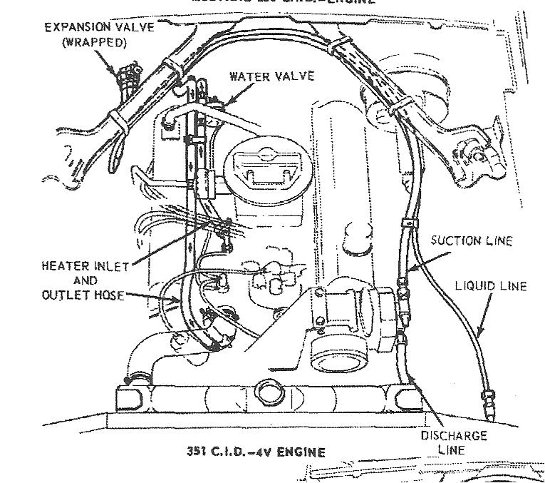 diagram for 390 engine timing marks
