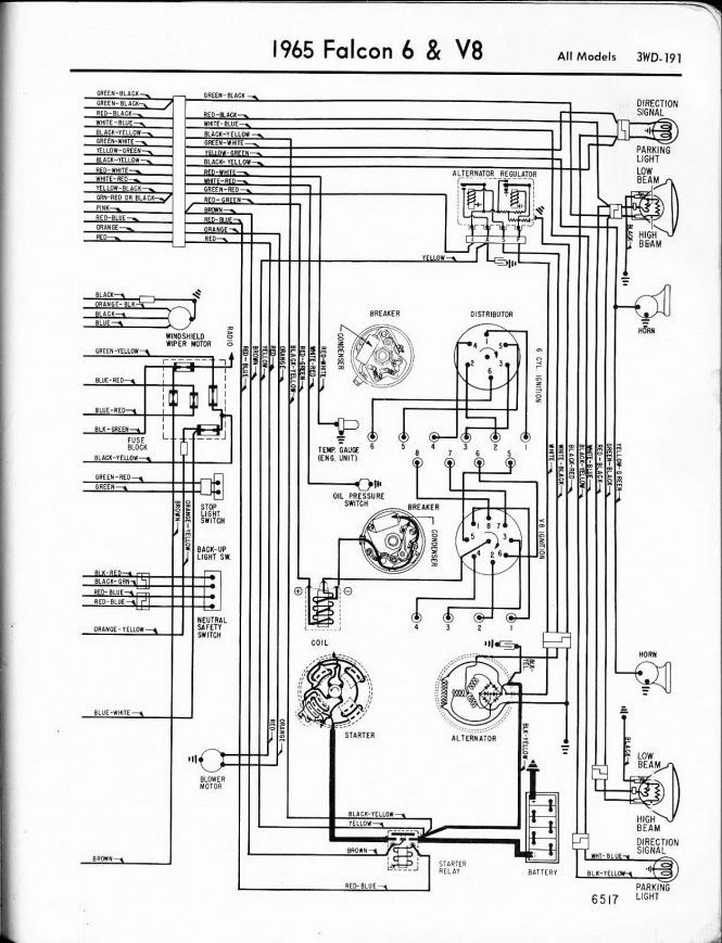 1964 fairlane wiring diagram manual