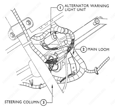 Ford Van Alternator Wiring Wiring Diagram