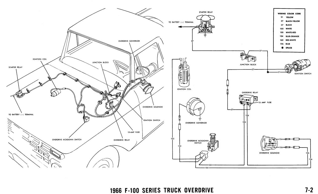 1966 ford pickup wiring diagram in a pdf