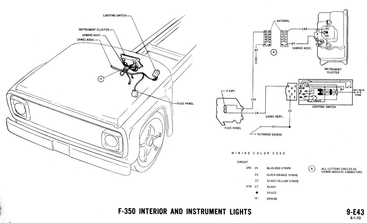 1971 wiring diagrams ford truck fanatics