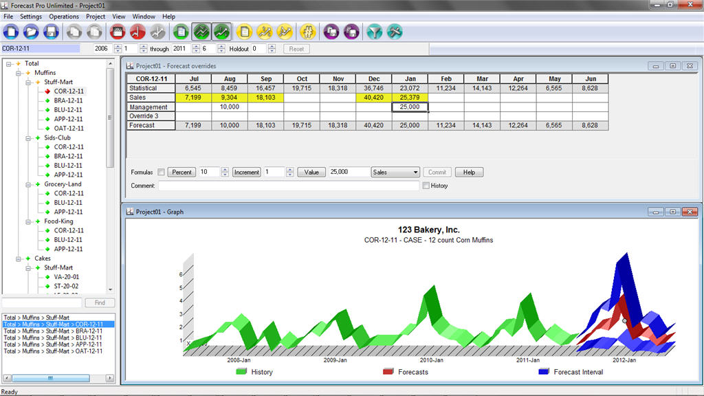 sales forecasting spreadsheet