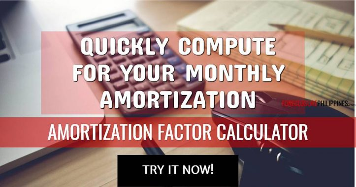 Amortization Factor Rate Tables - ForeclosurePhilippines