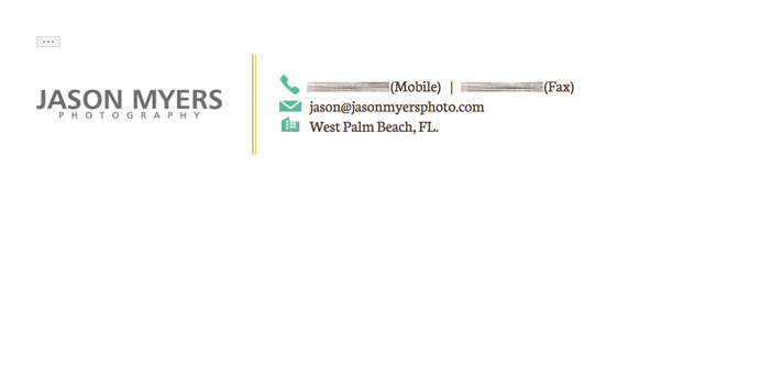 The photographer\u0027s guide to email signatures ForegroundWeb