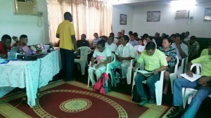 Successful session on EUFLEGT was held in Lethem (February 10 2017)