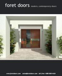Modern contemporary european style front entry doors by ...
