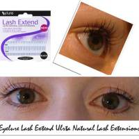 How to apply individual false eyelashes: Eyelure Lash Extend Ultra Natural Lash Extensions Review