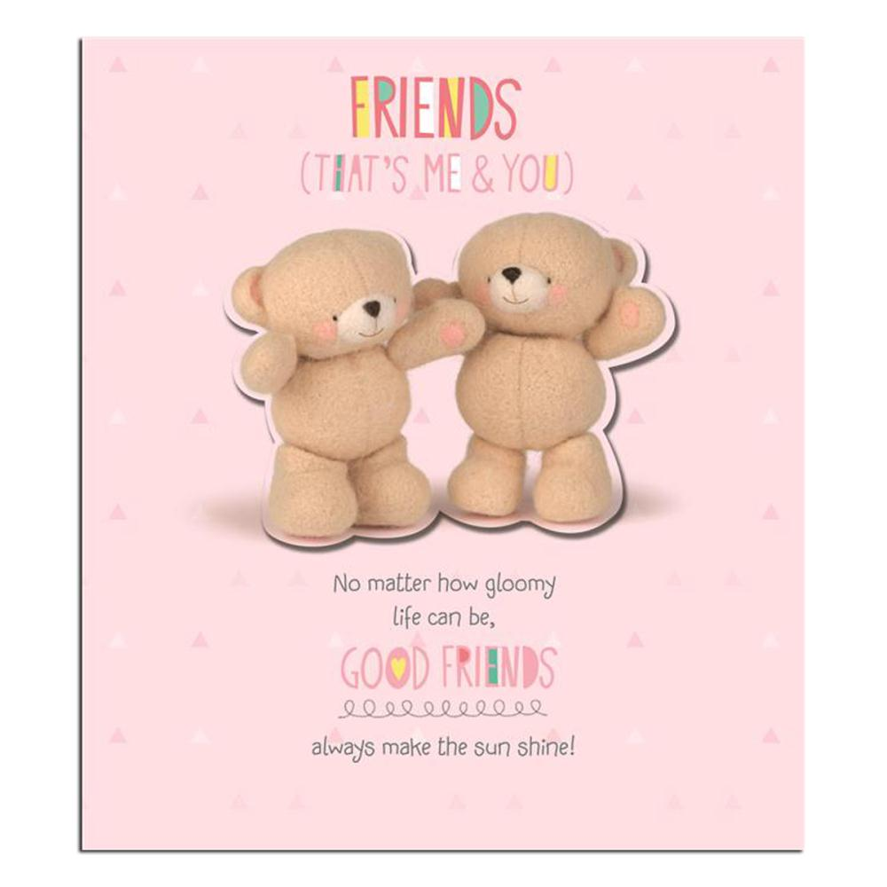 Cute Hug Day Wallpapers Good Friends Thank You Forever Friends Card Forever