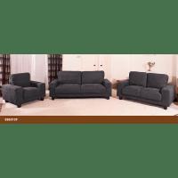 Venus Slate Grey Fabric Sofa - Forever Furnishings :: Fine ...