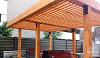 The Silverado Modern Pergola - Forever Redwood