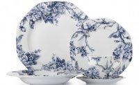Stokes Dinnerware & ZEN WHITE 16-PIECE DINNERWARE SET ...