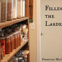 Filling the Larder