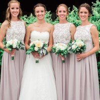 Bridesmaid Dresses, Little White Dress, Simple Wedding ...