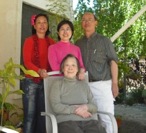 Winnie, Sister-in-law Evonne, and brother, Henry Lu