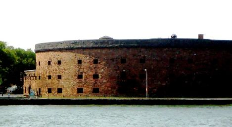 A 1700's fort on Governor's Island