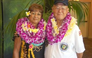 Shirley Simbre-Medeiros and Edward Kawamura were named Kaua'i's 2016 Outstanding Female and Male Older American.