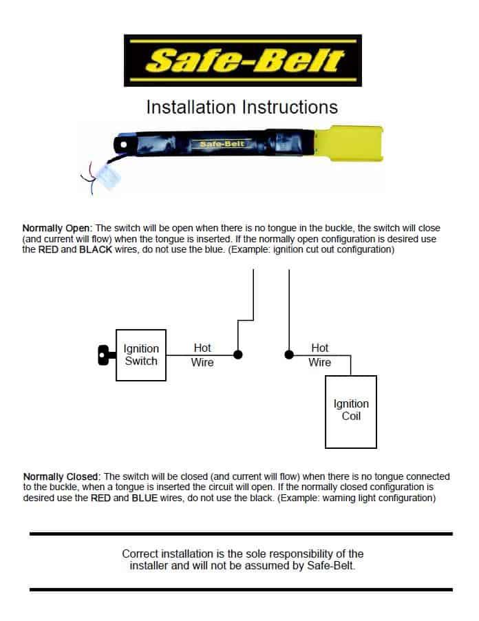 Seat Belt Light Wiring Diagram Wiring Diagram 2019