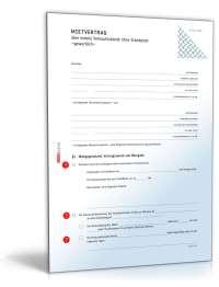 Gewerbemietvertrag mobiler Verkaufsstand | Muster PDF ...