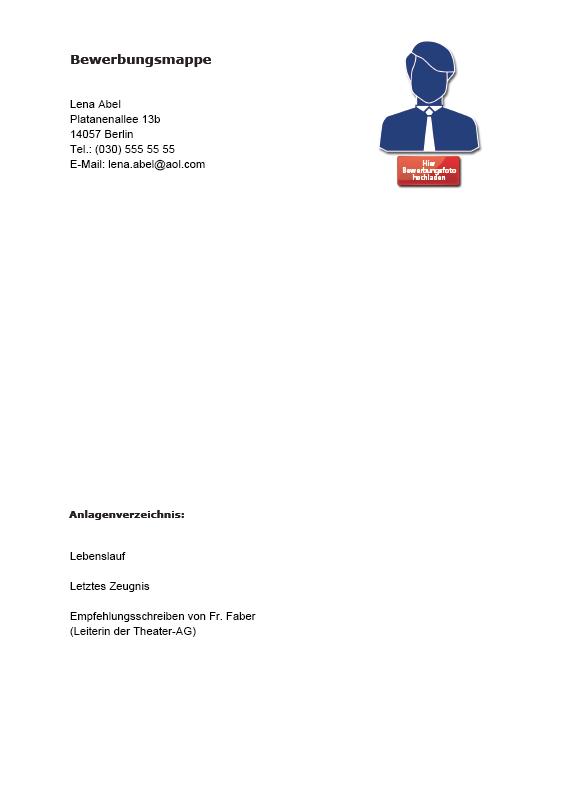 lebenslauf praktikum beschreibung vorschau blitzbewerbung praktikum im rahmen der schule deckblatt pdf
