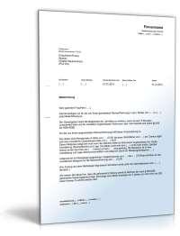 Ankndigung Mieterhhung: Rechtssicheres Muster zum Download