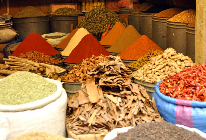 Fez Morocco spices