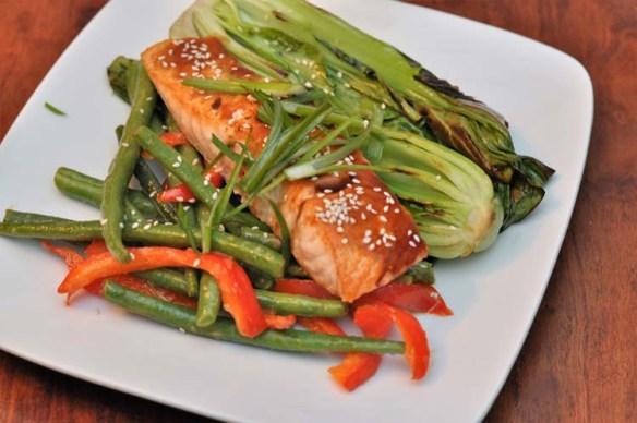 Home Chef Tonkatsu Salmon
