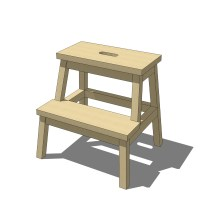 IKEA Bekvam Step Stool 3D Model - FormFonts 3D Models ...