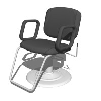 QSE Hydraulic All-Purpose Chair 3D Model - FormFonts 3D ...